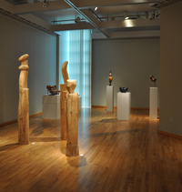 Photo of Wilson Center's art gallery