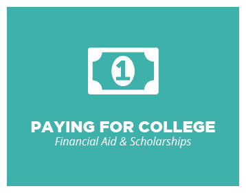 Paying for college button