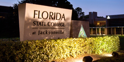 Image of FSCJ sign